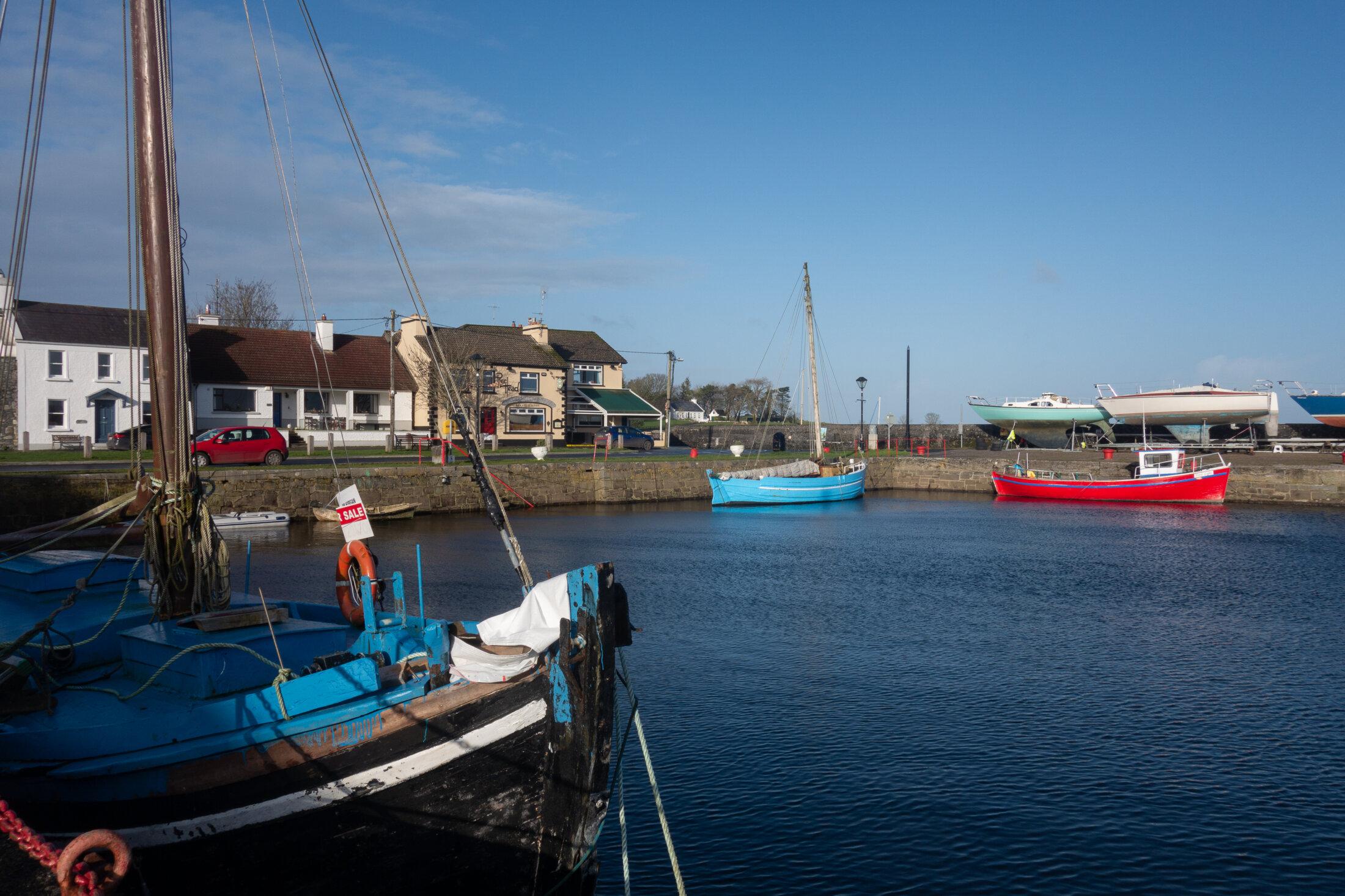 Hafen von Kinvara